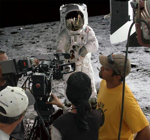 funny moon landing - photo #2