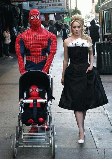 Spiderman and Family
