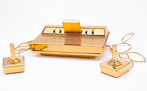 Gold Plated Atari 2600