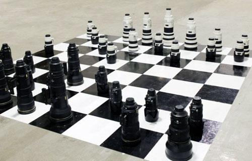 Camera Lens Chess