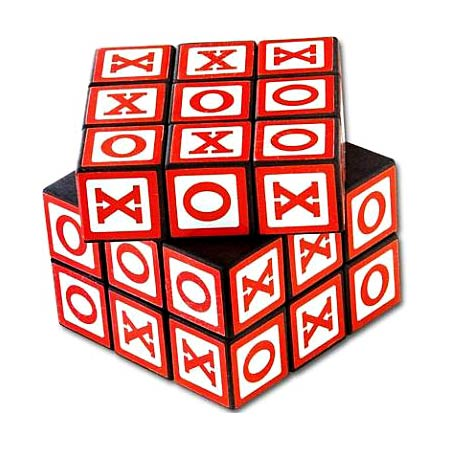 Tic-Tac-Toe Rubik's Cube