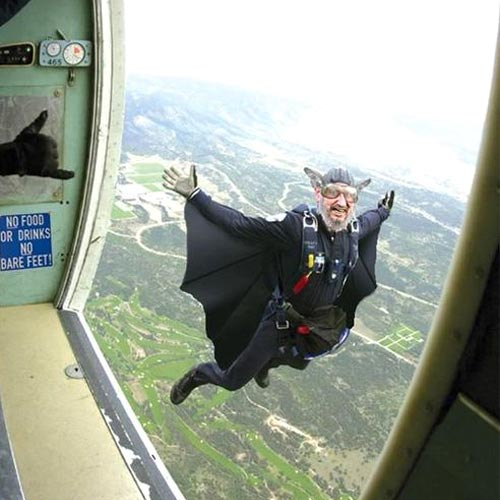 Bat Wings Sky Diving