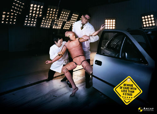 Ancap Crash Test Dummy Advert