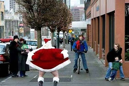 Bad Flashing Santa