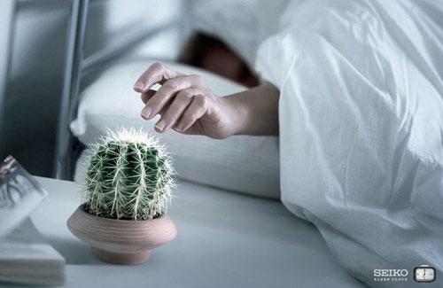 Cactus Alarm Clock