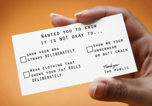 Funny FYI Business Cards