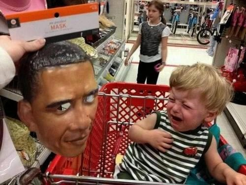 Barack Obama Halloween Mask