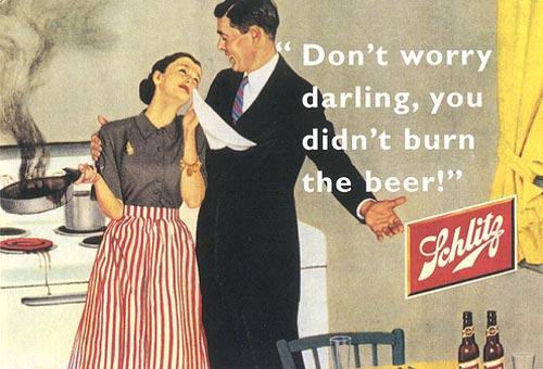 Vintage Schlitz Beer Ad