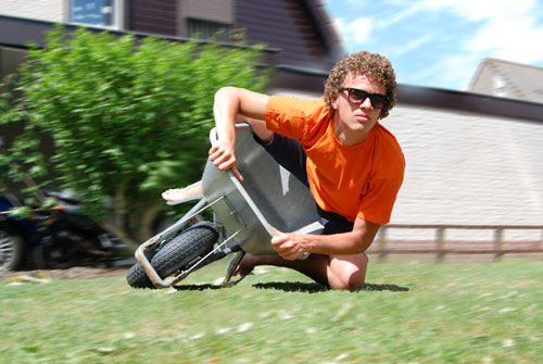 Wheelbarrow Racer
