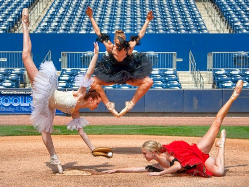 Baseball Ballet Photography