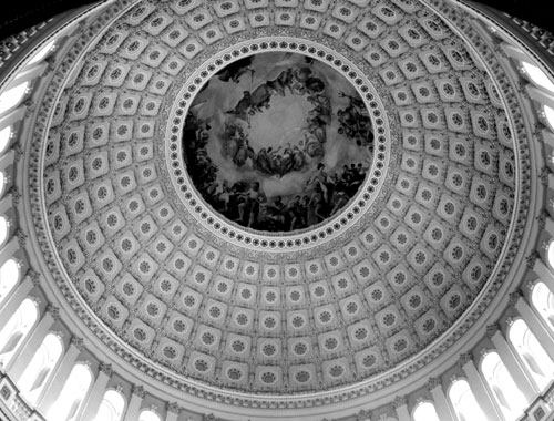 Capitol Building Rotunda Photography