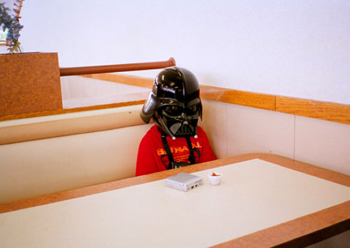 Darth Vader Waiting For Lunch
