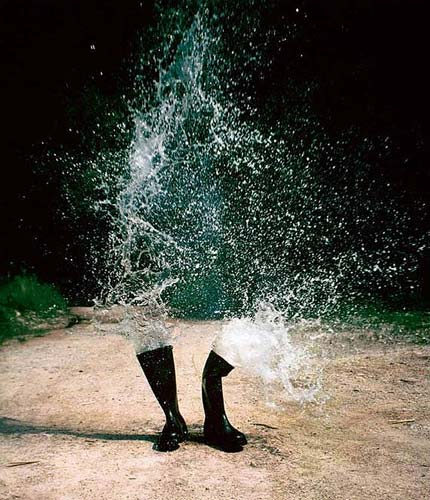 High-Speed Splash Photography