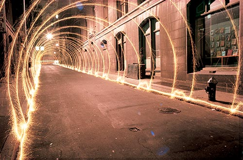 Tunnel of Light | Long Exposure Photography