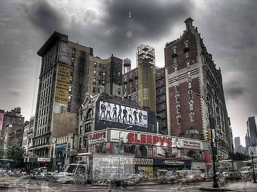 HDR in NYC | Sleepys Mattress, 72nd & Amsterdam