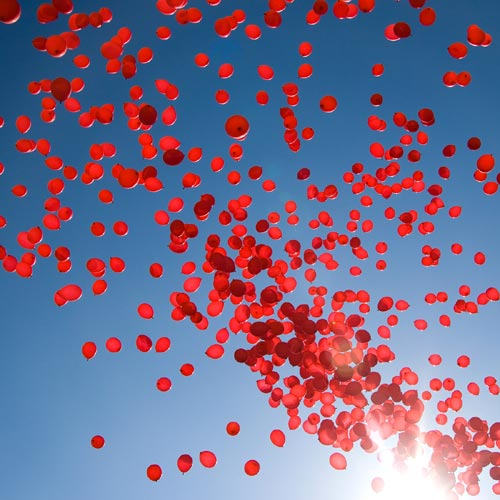 Red Balloon Release In Denmark For Burma