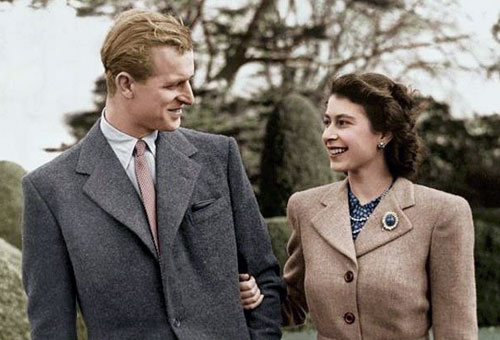 Then And Now Photos Of Queen Elizabeth II And Prince Philip