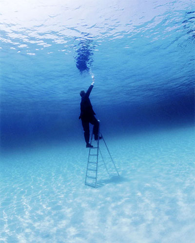 Underwater Climb To The Surface