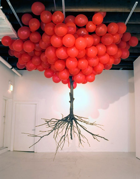 Uprooted Balloon Tree