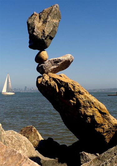 Balancing Rocks Sculpture