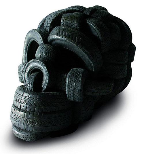 Tire Skull