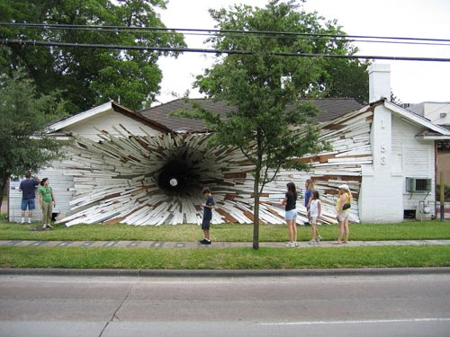 Inversion Tunnel House