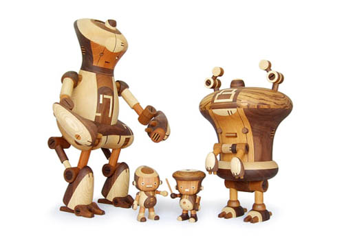 Take-G Toys | Wooden Figurines