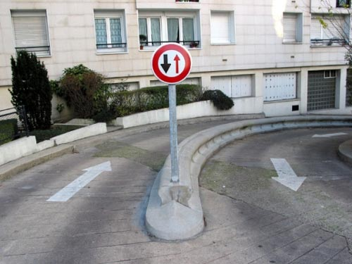 Road Sign Error