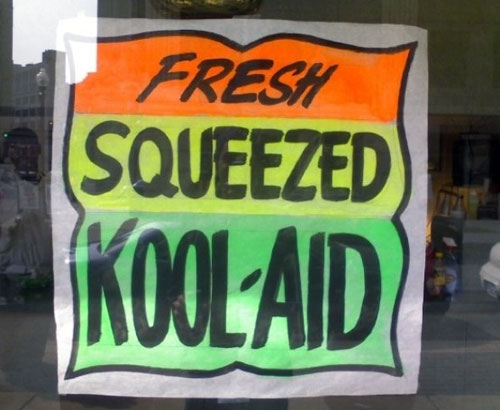 Fresh Squeezed Kool-Aid Sign