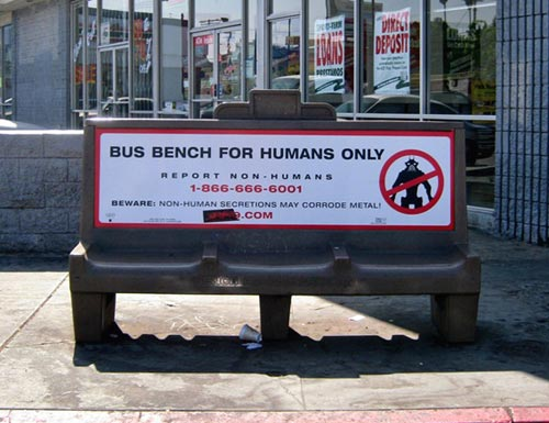 District 9 Bus Bench Campaign