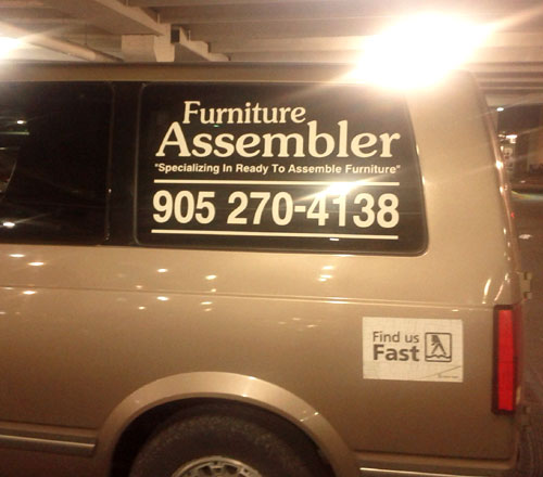 Furniture Assembler Specializing In Ready To Assemble Furniture