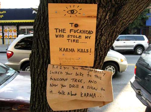 Karma Kills | Talk About Karma Signs