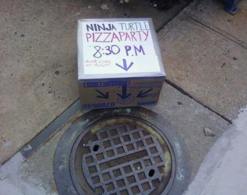Ninja Turtles Pizza Party