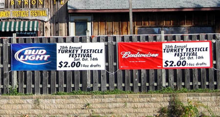 Budweiser Turkey Testicle Festival