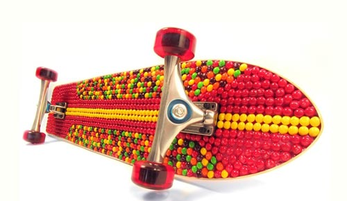 Skittles Longboard