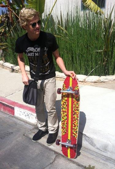 Skittles Skateboard