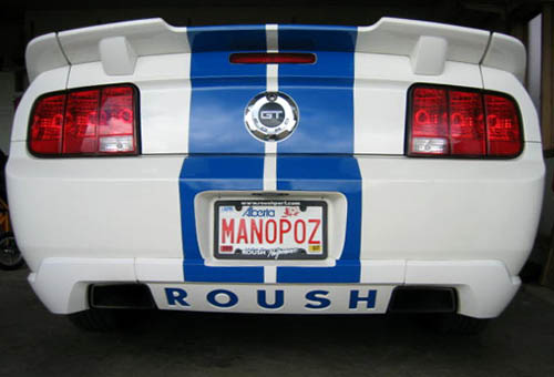 Tags: cars, funny, license plate, Mustang, photo, vanity