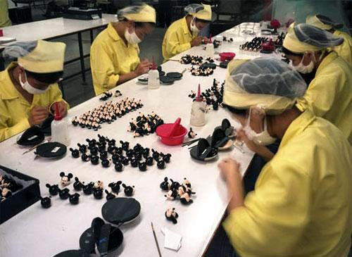 Disney Toy Factory In China