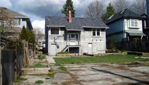 Crack Shack Or Million Dollar Home In Vancouver