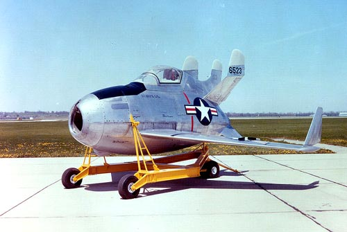 McDonnell XF-85 Goblin Fighter Jet