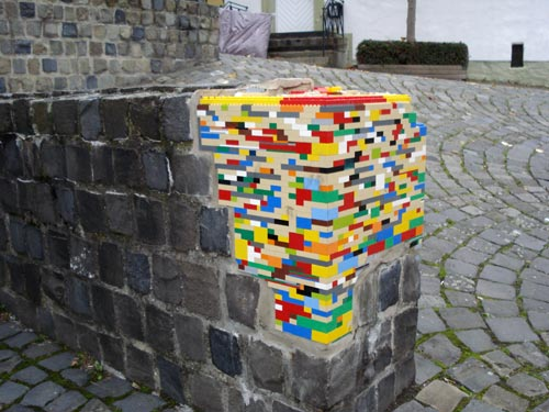 Wall Repair With Lego