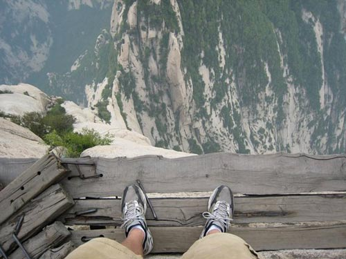 Mount Hua Shan | Wooden Ledge Path