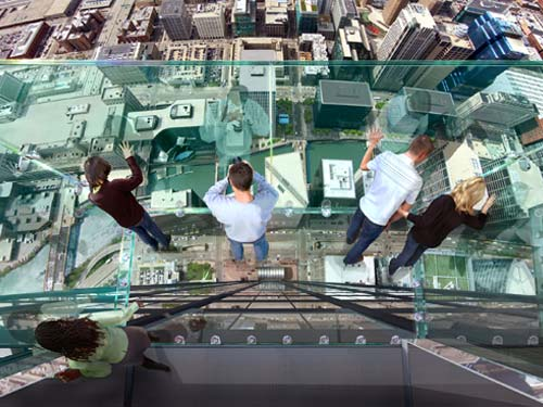 Sears Tower Glass Observation Platform