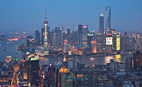 Picture of Shanghai in 2010
